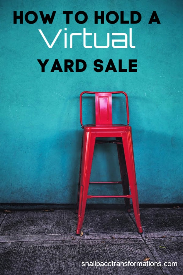 How I Created A Virtual Yard Sale On Facebook