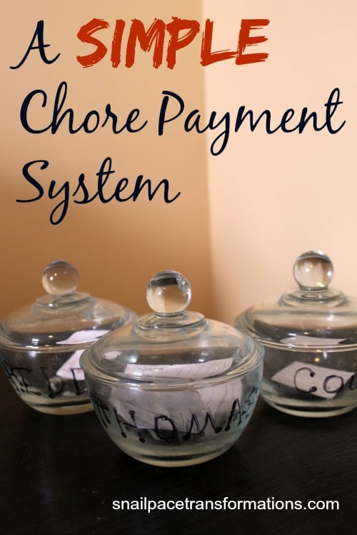 A Simple Chore Payment System