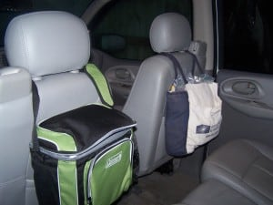 How to make the most of your car's space for a long road trip.