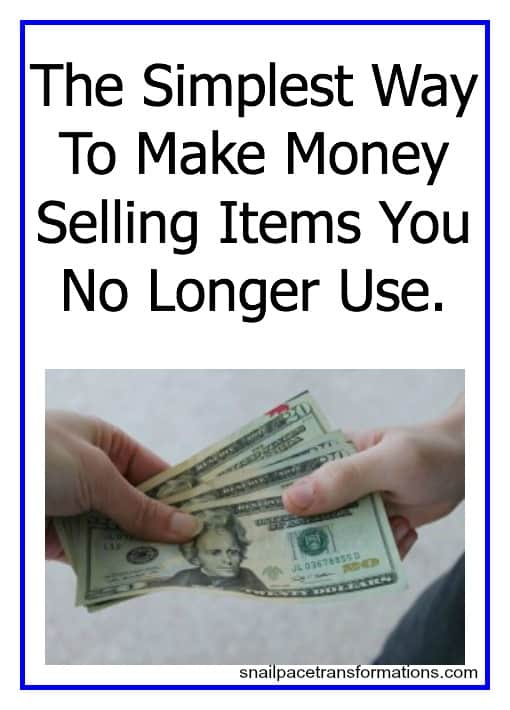 The simplest way to make money selling items you no longer use. #resellit #earnmoney