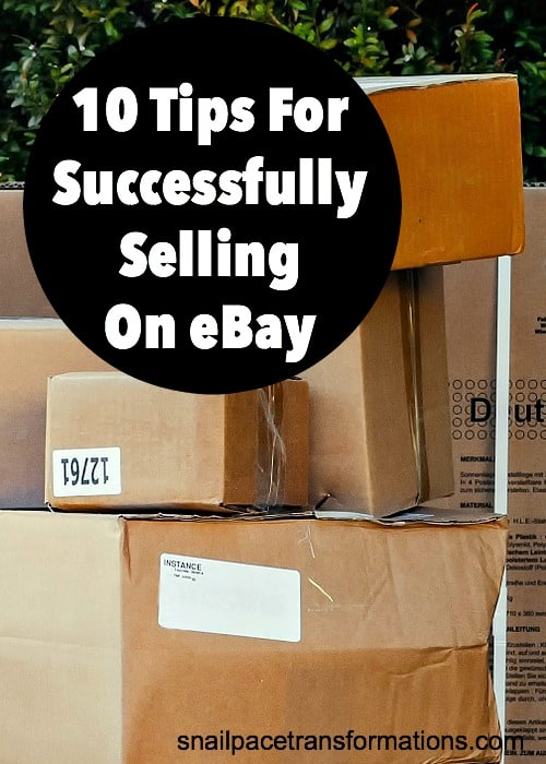 10 Tips For Successfully Selling On eBay