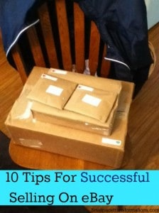 10 tips for successful selling on eBay