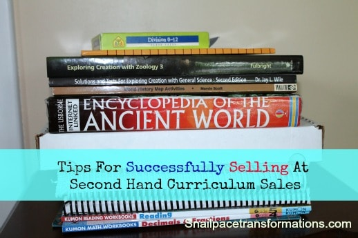 Tips For Successfully Selling At Second Hand Curriculum Sales