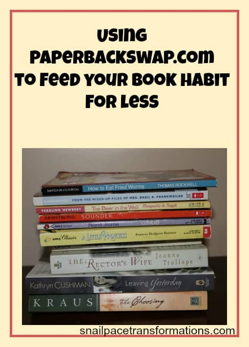 using paperbackswap.com to feed your book habit for less