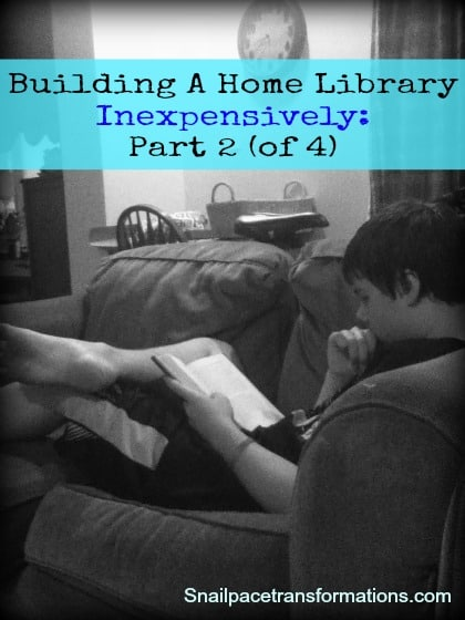 building a home library inexpensively part 2 of 4
