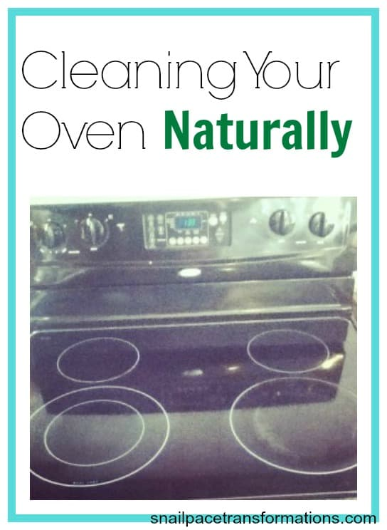 cleaning your oven naturally
