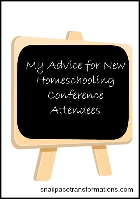 my advice for new homeschooling conference attendees