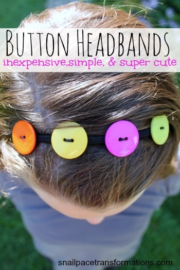 button headbands inexpensive simple and super cute