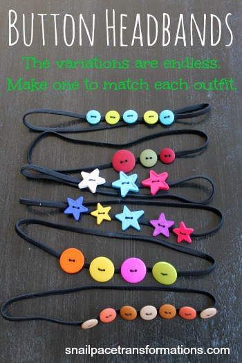 button headbands make one to match each outfit