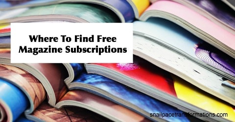 Use this method to give a magazine subscription as a Christmas gift for mom without it costing you a dime. Use the money you save to buy her snacks to enjoy as she reads.