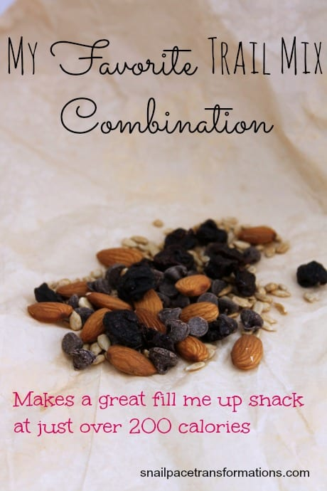 my favorite trail mix combination