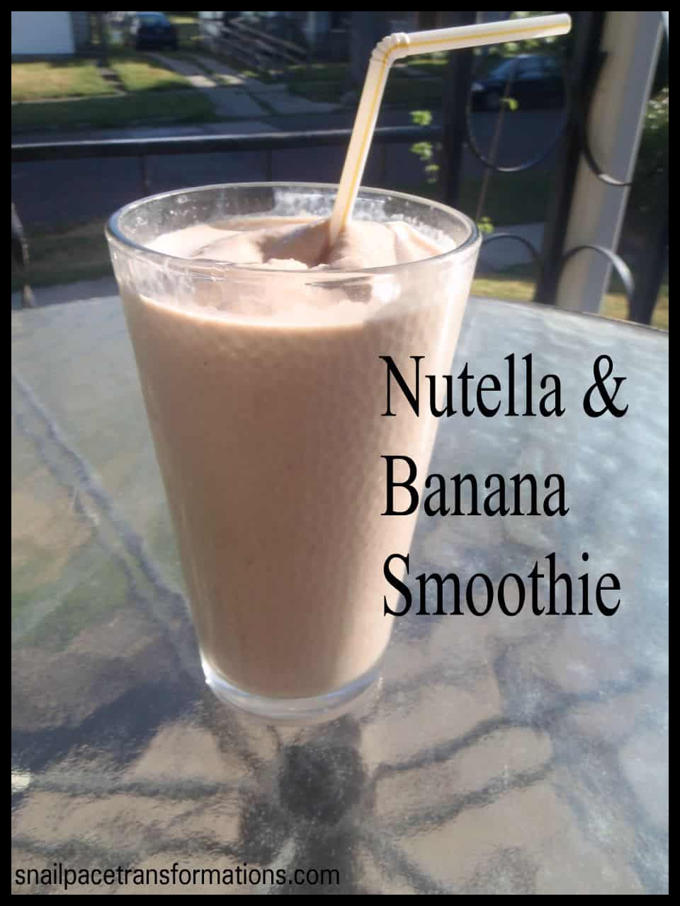 how to make a nutella smoothie