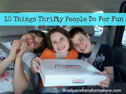 10 Things Thrifty People Do For Fun