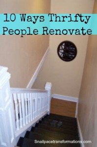 10 Ways Thrifty People Renovate