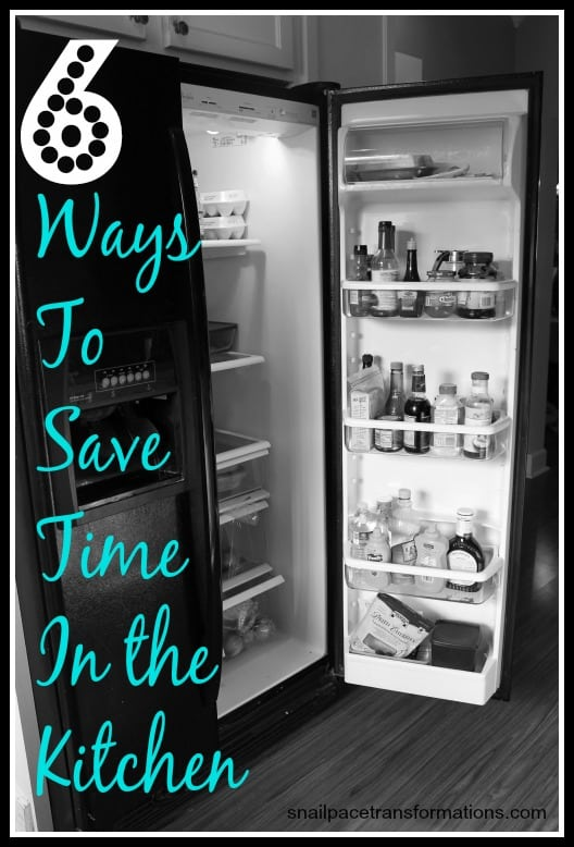 6 ways to save time in the kitchen