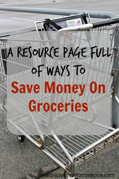 A resource page full of ways to save money on groceriesfull of great tips, apps, and coupon sources (med)
