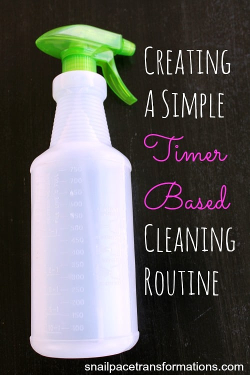 creating a simple timer based cleaning routine