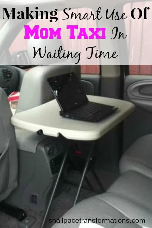 making smart use of mom taxi in waiting time