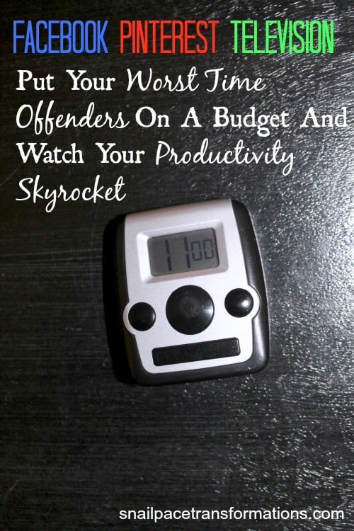 put your worst time offenders on a budget