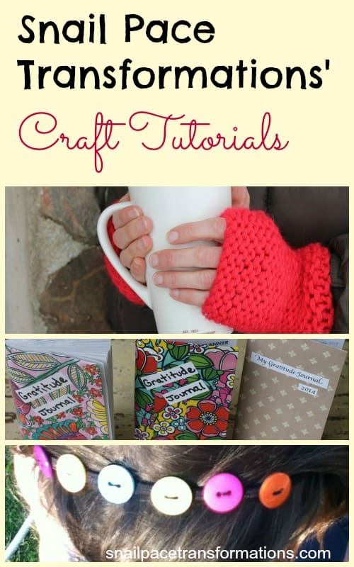 snail pace transformations craft tutorials