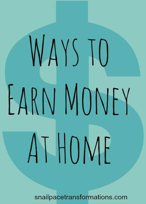 ways to earn money at home