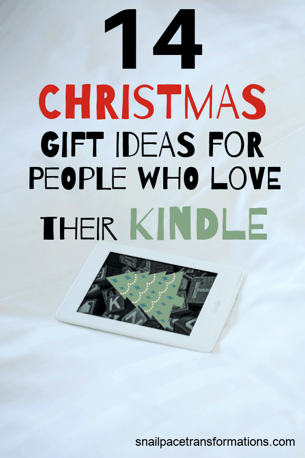 14 Christmas Gift Ideas For People Who Love Their Kindle