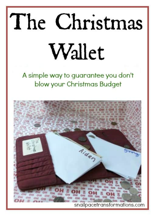 The christmas wallet (large)