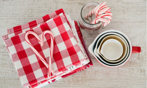 The tools you need to make the Five No Bake Christmas recipes