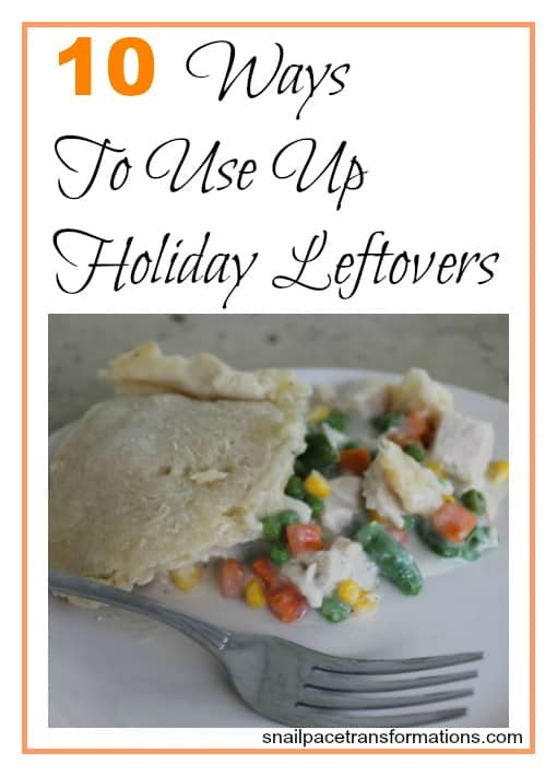 10 Ways to Use Up Holiday Leftovers