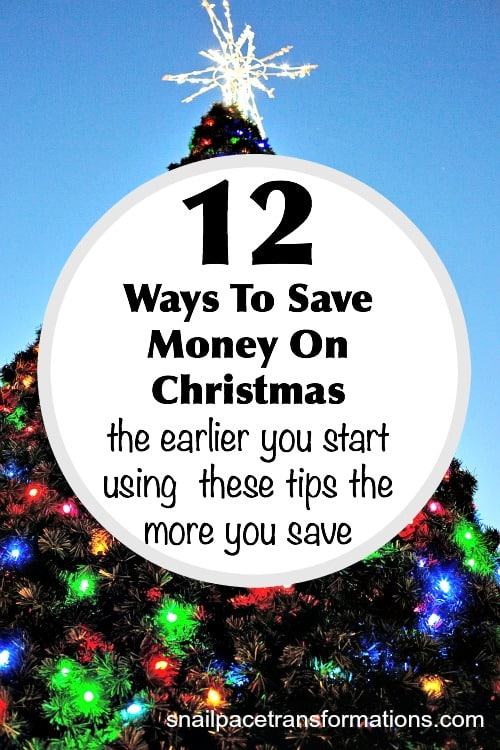 How to reduce Christmas expenses