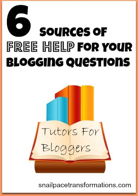 6 sources of free help for your blogging questions