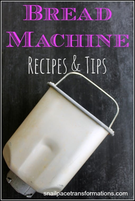 Bread Machine Recipes & Tips Everything To Put Your Bread Machine To Work In One Place