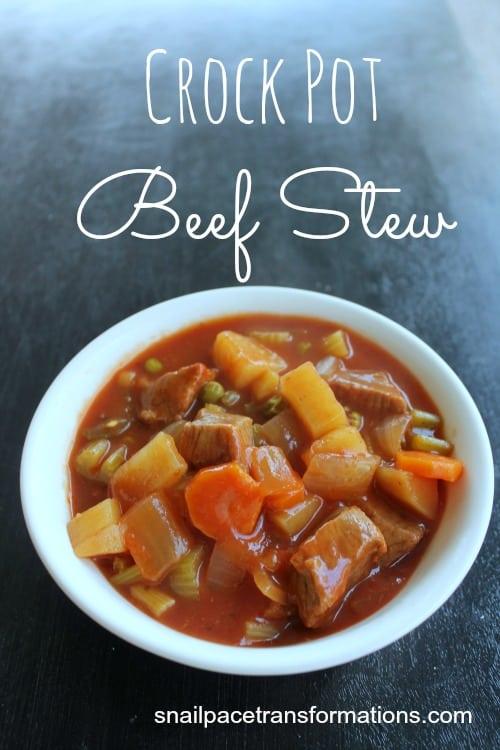 Crock Pot Beef Stew great fall dish
