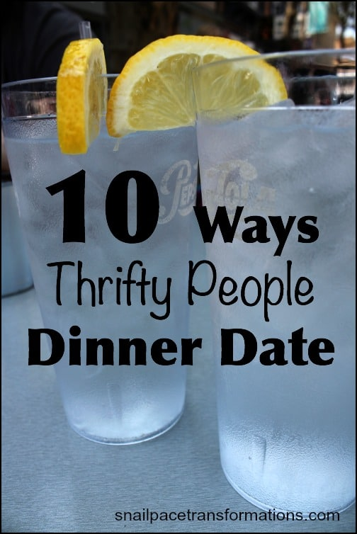 10 Ways Thrifty People Dinner Date