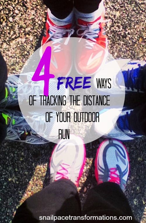4 free ways of tracking the distance of your outdoor run