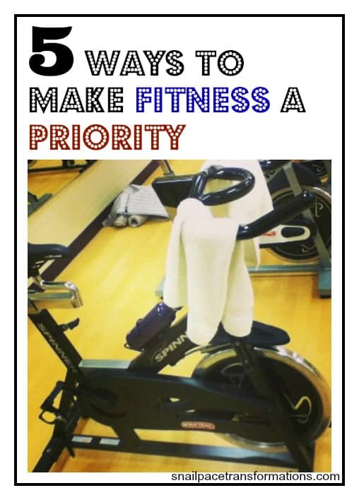 5 ways to make fitness a priority