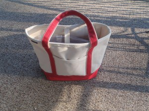lands' end tote