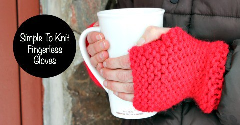Make mom fingerless gloves for Christmas.
