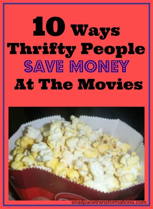 10 Ways Thrifty People Save Money At The Movies