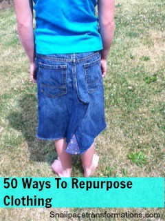 50 Ways to Repurpose Clothing