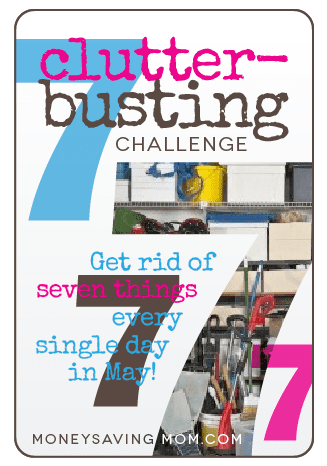 7 clutter-busting challenge