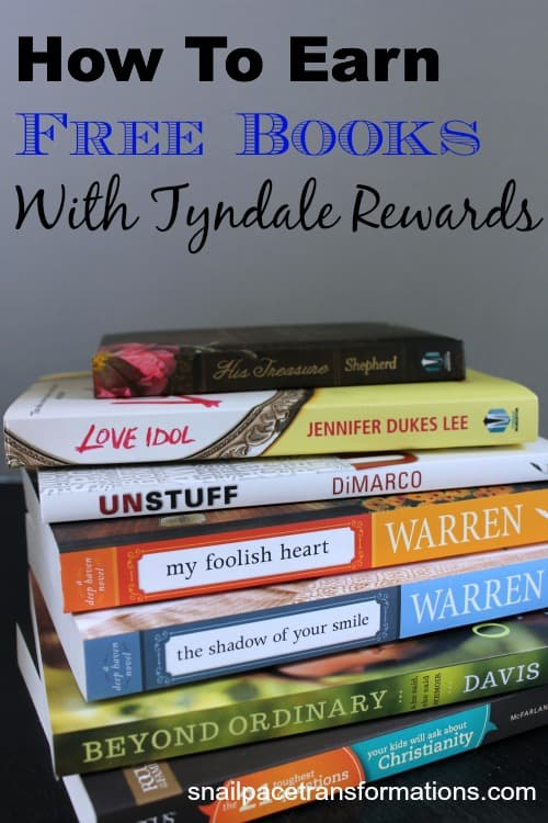 how to earn free books with tyndale rewards