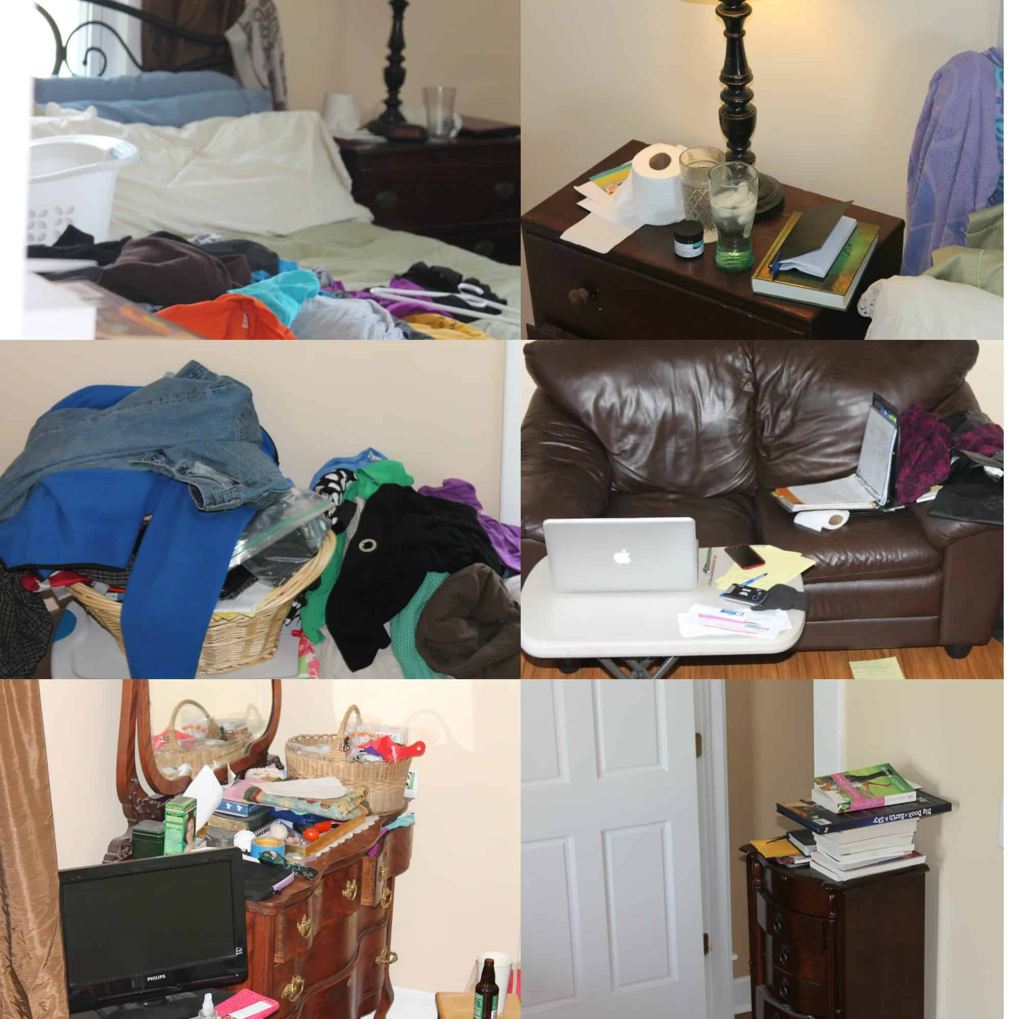 Messy Bedroom: Project Simplify: The Very Long Overdue Project