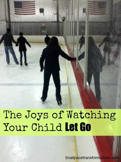 the joys of watching your child let go