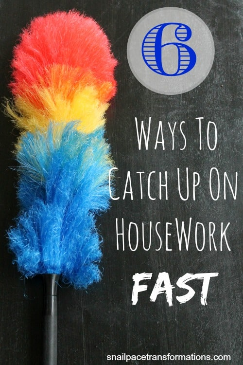 6 Ways To Catch Up On Housework Fast
