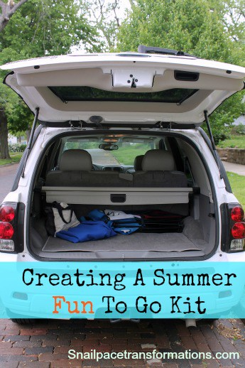 Creating A Summer Fun To Go Kit