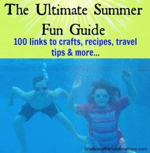 The Ultimate Summer Fun Guide (snailpacetransformations.com)