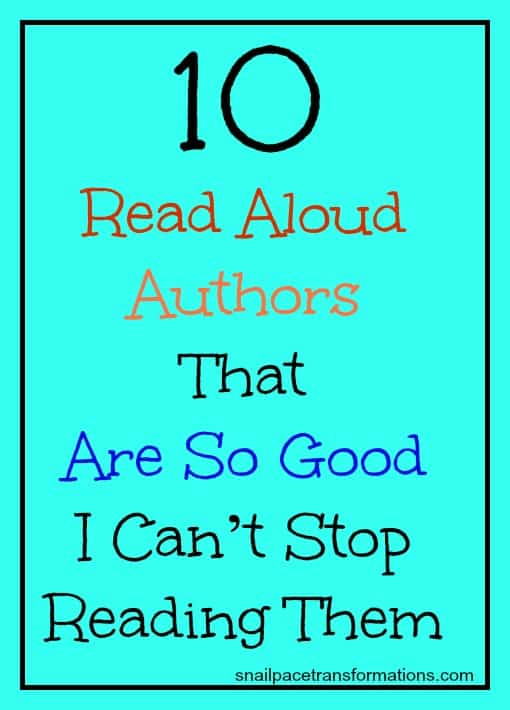 10 read aloud authors