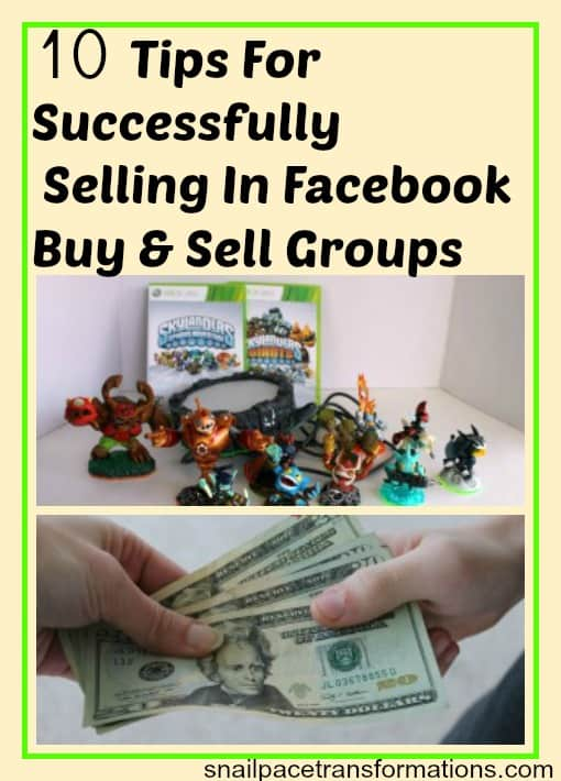 10 tips for successfully selling in facebook buy and sell groups