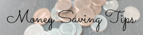 money saving tips side tab